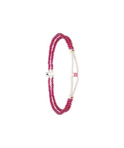 LUIS MIGUEL HOWARD | Ruby And Diamond Bracelet