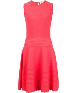 Carolina Herrera | Fit And Flare Dress Xl Nylon/Viscose