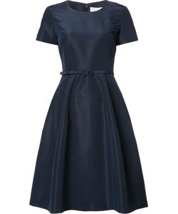 Carolina Herrera | Faille Belted Dress 2 Silk