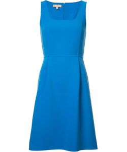 Michael Kors | Short Shift Dress 12 Wool/Spandex/Elastane