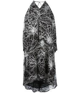 Diane Von Furstenberg | V Neck Flared Dress Medium