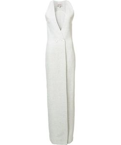 Cushnie Et Ochs | Front Slit Double-Breasted Dress 2 Polyester/Spandex/Elastane/Viscose/Polyurethane Cushnie Et