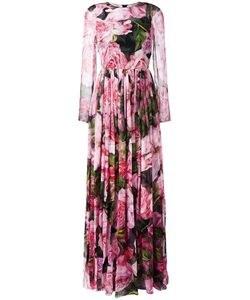 Dolce & Gabbana | Print Gown 40 Silk/Cotton/Polyamide