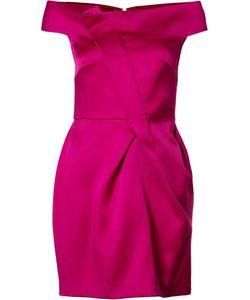 Roland Mouret | Draped Detail Dress 6 Acetate/Viscose/Polyurethane