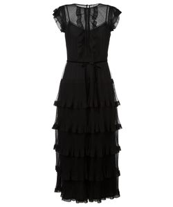 Red Valentino | Frill Tulle Dress 40 Polyester/Polyamide