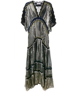 Peter Pilotto | Silk-Blend Gown Large Viscose/Spandex/Elastane/Polyester/Spandex/Elastane