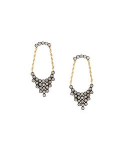 Yannis Sergakis | Diamond And Chain Drop Earrings