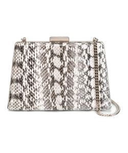 Lanvin | A-Line Compact Shoulder Bag Watersnake Skin/Cotton