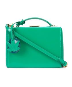 Mark Cross | Small Grace Box With Leaf Charm Shoulder Bag Leather