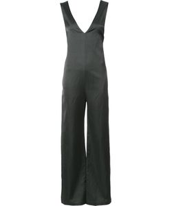 NOMIA | V Neck Jumpsuit 4 Cotton/Linen/Flax/Viscose