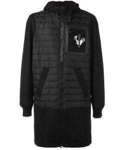 ROSSIGNOL | Padded Long Coat 46 Virgin Wool/Polyamide/Feather