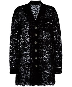 Dolce & Gabbana | Lace Jacket 44 Polyamide/Cotton/Silk