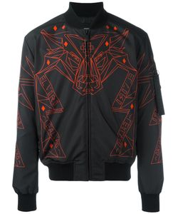 MARCELO BURLON COUNTY OF MILAN | Abstract Print Bomber Jacket