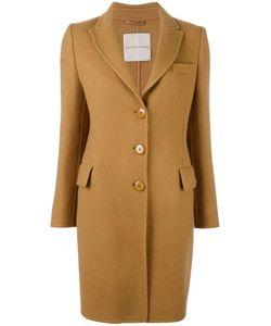 Ermanno Scervino | Classic Mid Coat 38 Virgin Wool/Mohair/Cupro
