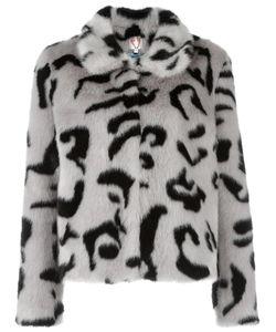 SHRIMPS | Fur Effect Jacket 10 Modacrylic/Polyester/Acetate/Viscose