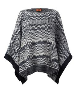 Missoni | Zig-Zag Knit Poncho Wool/Acrylic