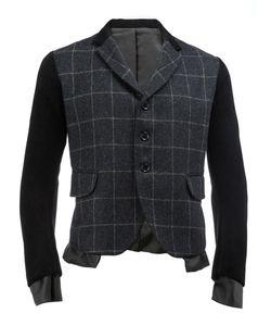 Christopher Nemeth | Plaid Blazer Medium Nylon/Polyester/Cupro/Wool