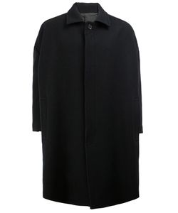 Christopher Nemeth | Concealed Fastening Oversized Coat Polyester/Cupro/Wool