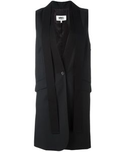 MM6 by Maison Margiela | Elongated Waistcoat 42 Virgin Wool/Viscose Mm6 Maison Margiela
