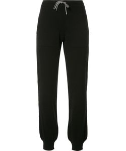 BARRIE | Drawstring Track Pants Large Cashmere