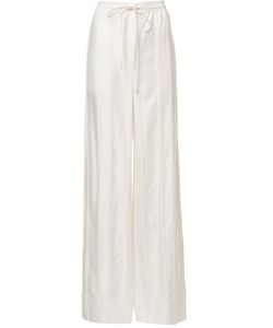 PROTAGONIST | Drawstring Palazzo Trousers Small Viscose