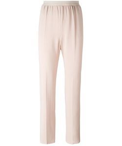 Agnona | Elasticated Waistband Trousers 44 Viscose/Spandex/Elastane