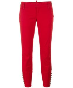 Dsquared2 | Livery Tenent Cropped Trousers 44 Cotton/Spandex/Elastane/Polyester
