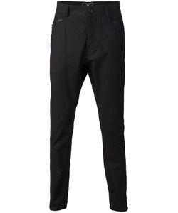 Unconditional | Tapered Trousers Small Cotton/Spandex/Elastane