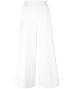 Vivetta | Cropped Palazzo Pants 42 Polyester/Spandex/Elastane/Viscose/Cotton