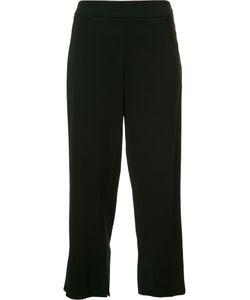 Cushnie Et Ochs | Straight Cropped Trousers 6 Viscose/Spandex/Elastane