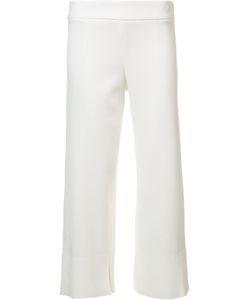 Cushnie Et Ochs | Straight Cropped Trousers 4 Viscose/Spandex/Elastane
