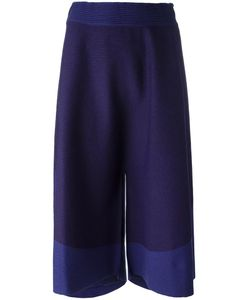 Issey Miyake | Elasticated Waistband Cropped Trousers 2 Nylon/Cotton