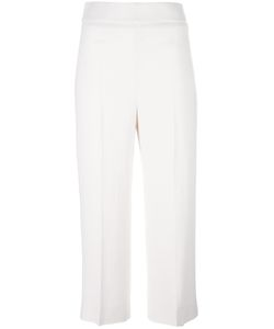 Max Mara | Tailored Cropped Trousers 40 Spandex/Elastane/Acetate/Viscose