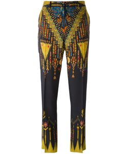 Etro | Printed Trousers 42 Viscose