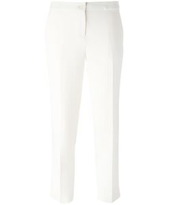 Etro | Cropped Tailored Trousers 44 Viscose/Acetate/Spandex/Elastane