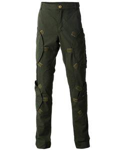 WALTER VAN BEIRENDONCK VINTAGE | Walter Van Beirendonck Zip Pocket Cargo Trousers Large Cotton