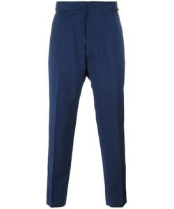 Vivienne Westwood | Man Striped Lateral Cropped Trousers 46