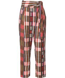 A PIECE APART | Apiece Apart Printed Wrap Pants 4 Linen/Flax/Tencel