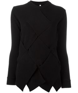 Miahatami | Oversized Woven Detail Jumper 44 Mohair/Cashmere