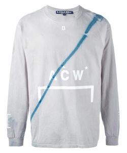 A-Cold-Wall | Stain Effect Sweatshirt Xxl Cotton