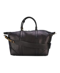 Salvatore Ferragamo | Embossed Logo Weekender Bag Calf Leather