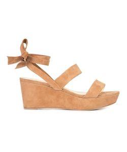 Alexandre Birman | Luma Wedge Sandals 6.5 Suede