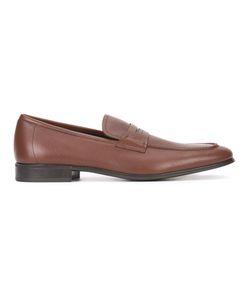 Salvatore Ferragamo   Fiorino Loafers 10 Leather/Rubber