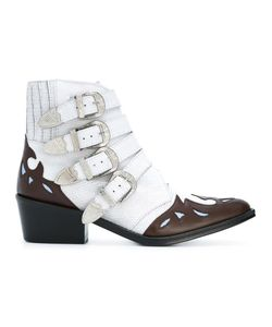 Toga | Ankle Height Buckle Boots 37 Leather