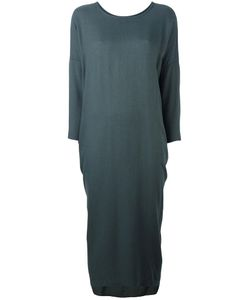 Black Crane | Cocoon Dress Small Rayon/Wool