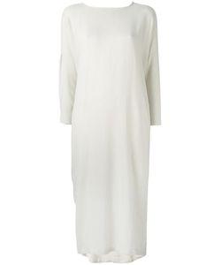 Black Crane | Cocoon Dress Medium Rayon/Wool