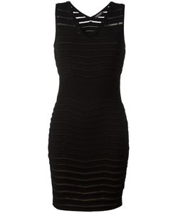 Twin-set | Ribbed Detail Fitted Dress Medium Polyamide/Spandex/Elastane
