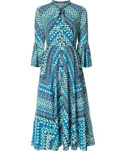 Temperley London | Stylised Print Shift Dress 6 Cotton