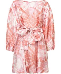 Zimmermann | Tie Dye Flared Dress 1 Viscose/Silk
