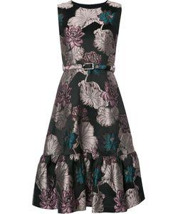 Co | Jacquard Dress Large Acetate/Polyester/Polyamide